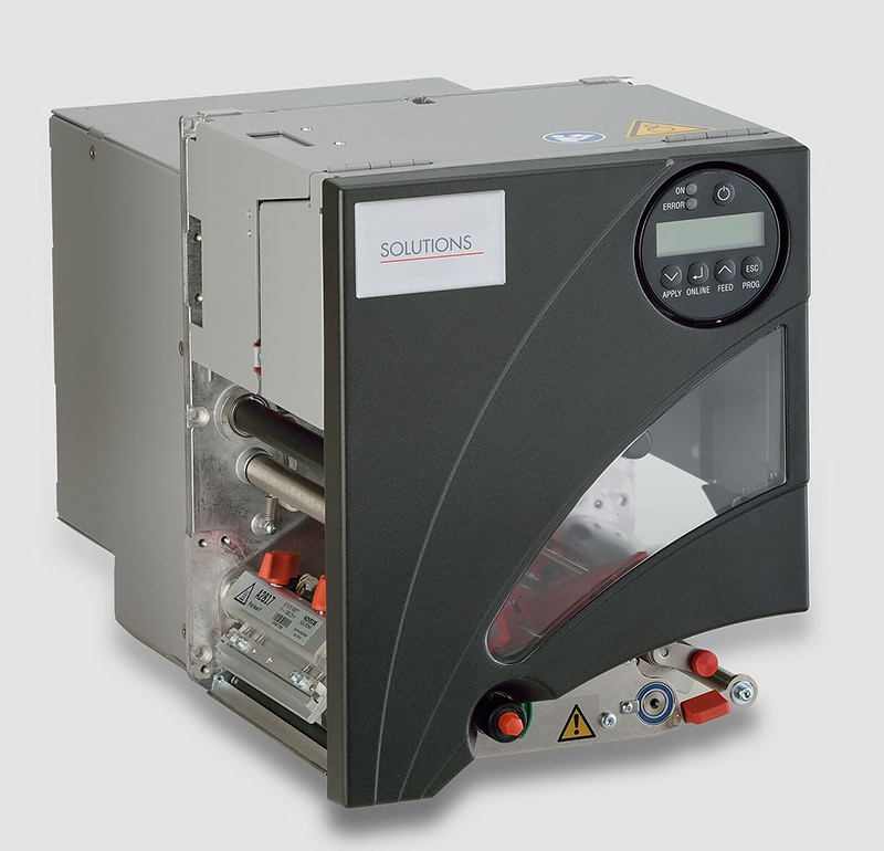 Inline-Thermotransferdrucker Etikettendrucker