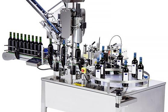 Vollautomatische Etikettiermaschinen für Flaschen
